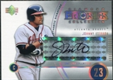 2004 Upper Deck UD Diamond Pro Sigs #194 Johnny Estrada Autograph
