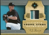 2005 Upper Deck Ultimate Collection Young Stars Materials Patch #AB A.J. Burnett /30