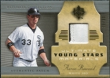 2005 Upper Deck Ultimate Collection Young Stars Materials Patch #AR Aaron Rowand /30