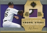 2005 Upper Deck Ultimate Collection Young Stars Materials Patch #JF Jeff Francis /30