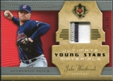 2005 Upper Deck Ultimate Collection Young Stars Materials Patch #JW Jake Westbrook /30