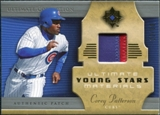2005 Upper Deck Ultimate Collection Young Stars Materials Patch #PA Corey Patterson /30
