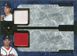 2005 Upper Deck Ultimate Collection Dual Materials Patch #GF Marcus Giles / Rafael Furcal /10