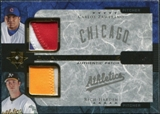 2005 Upper Deck Ultimate Collection Dual Materials Patch #ZH Carlos Zambrano Rich Harden 8/10