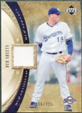 2005 Upper Deck Artifacts MLB Apparel #BS Ben Sheets Jersey /325