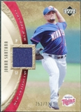 2005 Upper Deck Artifacts MLB Apparel #SA Johan Santana Jersey /325