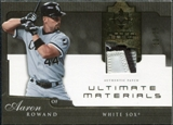 2005 Upper Deck Ultimate Collection Materials Patch #AR Aaron Rowand /25