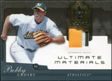 2005 Upper Deck Ultimate Collection Materials Patch #BC Bobby Crosby /25