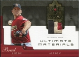 2005 Upper Deck Ultimate Collection Materials Patch #BL Brad Lidge /25