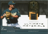 2005 Upper Deck Ultimate Collection Materials Patch #EC Eric Chavez /25