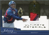 2005 Upper Deck Ultimate Collection Materials Patch #ES Johnny Estrada /25