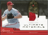 2005 Upper Deck Ultimate Collection Materials Patch #GF Gavin Floyd /25
