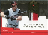 2005 Upper Deck Ultimate Collection Materials Patch #SC Sean Casey /25