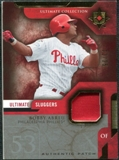 2005 Upper Deck Ultimate Collection Sluggers Patch #BA Bobby Abreu /25