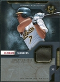 2005 Upper Deck Ultimate Collection Sluggers Patch #BC Bobby Crosby /25