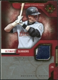 2005 Upper Deck Ultimate Collection Sluggers Patch #CB Craig Biggio /25