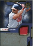 2005 Upper Deck Ultimate Collection Sluggers Patch #ES Johnny Estrada /25