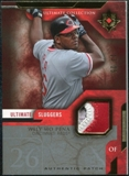 2005 Upper Deck Ultimate Collection Sluggers Patch #WP Wily Mo Pena /25
