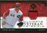 2005 Upper Deck Ultimate Collection Veteran Materials Patch #AD Adam Dunn /30