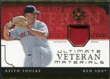 2005 Upper Deck Ultimate Collection Veteran Materials Patch #KF Keith Foulke /30