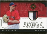 2005 Upper Deck Ultimate Collection Veteran Materials Patch #MC Matt Clement /30