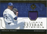 2005 Upper Deck Ultimate Collection Veteran Materials Patch #OP Odalis Perez /30
