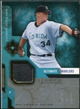 2005 Upper Deck Ultimate Collection Hurlers Patch #AB A.J. Burnett /25