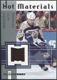 2005/06 Fleer Hot Prospects Hot Materials #HMWI Brendan Witt