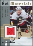 2005/06 Fleer Hot Prospects Hot Materials #HMCS Christoph Schubert