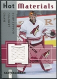 2005/06 Fleer Hot Prospects Hot Materials #HMLE David Leneveu