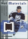2005/06 Fleer Hot Prospects Hot Materials #HMEA Evgeny Artyukhin
