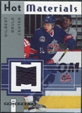 2005/06 Fleer Hot Prospects Hot Materials #HMGB Gilbert Brule