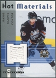 2005/06 Fleer Hot Prospects Hot Materials #HMJK Jakub Klepis