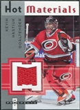 2005/06 Fleer Hot Prospects Hot Materials #HMKN Kevin Nastiuk