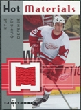2005/06 Fleer Hot Prospects Hot Materials #HMKQ Kyle Quincey