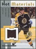 2005/06 Fleer Hot Prospects Hot Materials #HMMJ Milan Jurcina