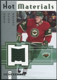 2005/06 Fleer Hot Prospects Hot Materials #HMMK Mikko Koivu