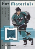 2005/06 Fleer Hot Prospects Hot Materials #HMSB Steve Bernier