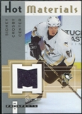 2005/06 Fleer Hot Prospects Hot Materials #HMSC Sidney Crosby