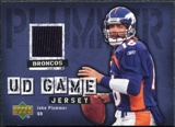 2006 Upper Deck Game Jerseys #GJPL Jake Plummer
