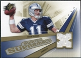 2006 Upper Deck SPx Swatch Supremacy #SWDB Drew Bledsoe