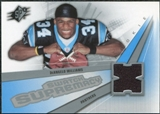 2006 Upper Deck SPx Rookie Swatch Supremacy #SWDW DeAngelo Williams