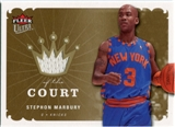 2006/07 Fleer Ultra Kings of the Court #KKSM Stephon Marbury
