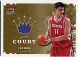 2006/07 Fleer Ultra Kings of the Court #KKYM Yao Ming
