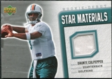 2006 Upper Deck Rookie Debut Star Materials Silver #SMDC Daunte Culpepper
