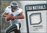 2006 Upper Deck Rookie Debut Star Materials Silver #SMDM Donovan McNabb