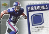 2006 Upper Deck Rookie Debut Star Materials Silver #SMSH Jeremy Shockey