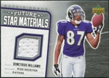 2006 Upper Deck Rookie Debut Future Star Materials Silver #FSMDW Demetrius Williams