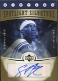 2006/07 Upper Deck Ovation Spotlight Signature Gold #SS Stromile Swift Autograph /25