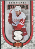 2006/07 Fleer Flair Showcase Stitches #SSPD Pavel Datsyuk